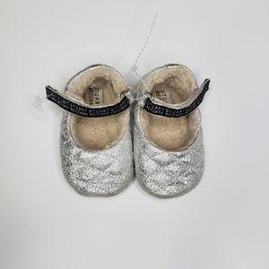 Stuart Weitzman Jenny sherpa mary jane shoes